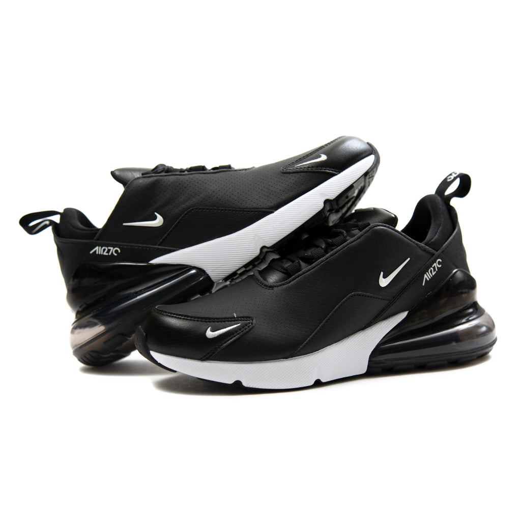 best website 30100 68da8 ConceptsIntl | Nike Air Max 270 Premium Leather (Black/White ...