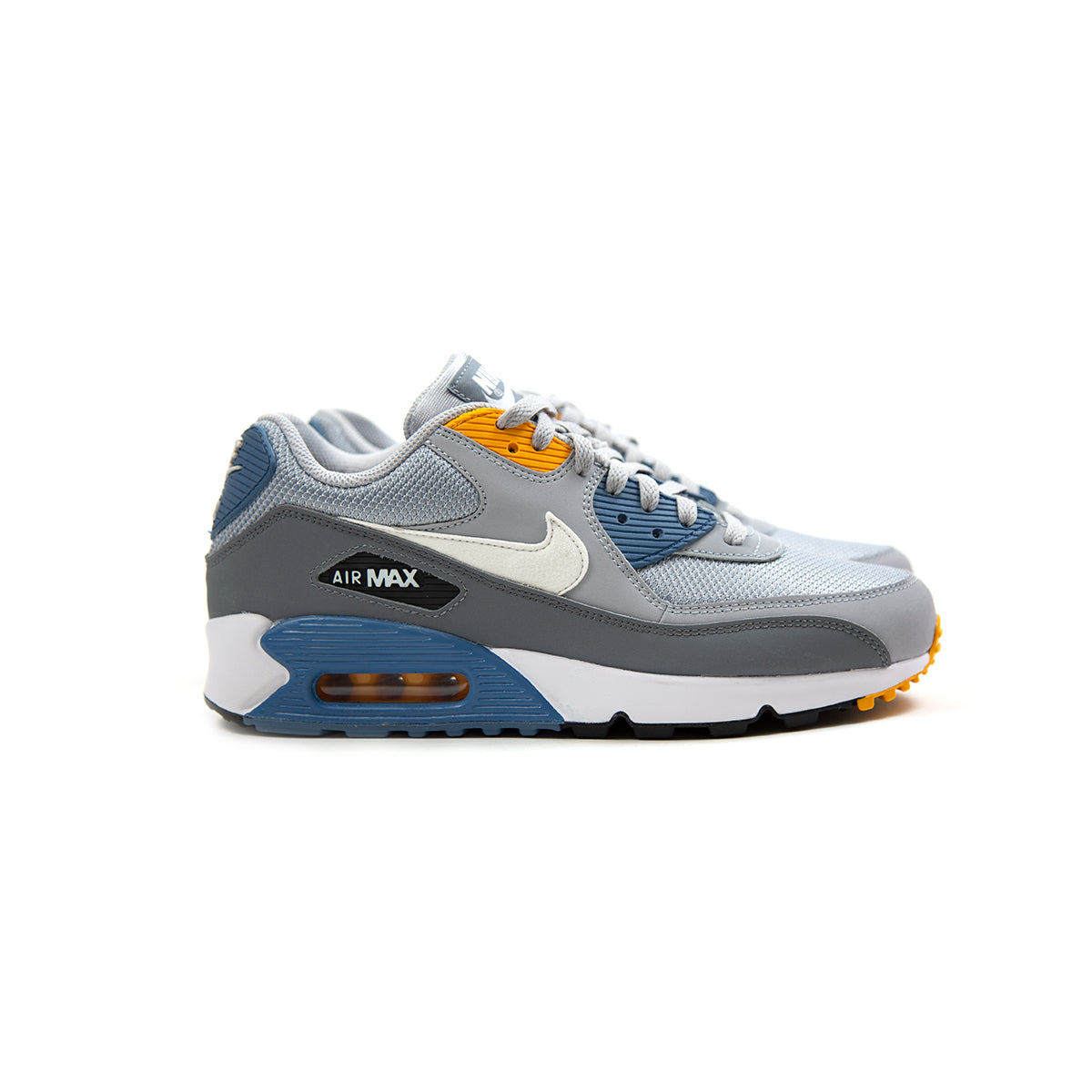 Nike Air Max 90 Essential (Wolf Grey White Indigo Storm)