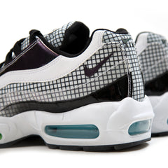 Nike Air Max 95 LV8 (White/Black-Blue Gaze-Lime Blast)
