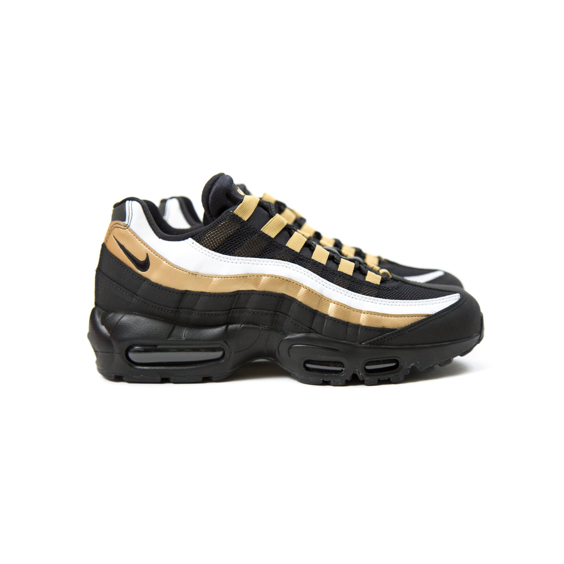 finest selection d2f82 2429c ConceptsIntl | Nike Air Max 95 OG (Black/Black/Metallic Gold ...