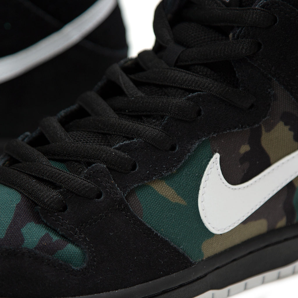 8816ed7e8f464 ConceptsIntl | Nike SB Dunk High Pro (Black/White-Iguana-Baroque Brown)
