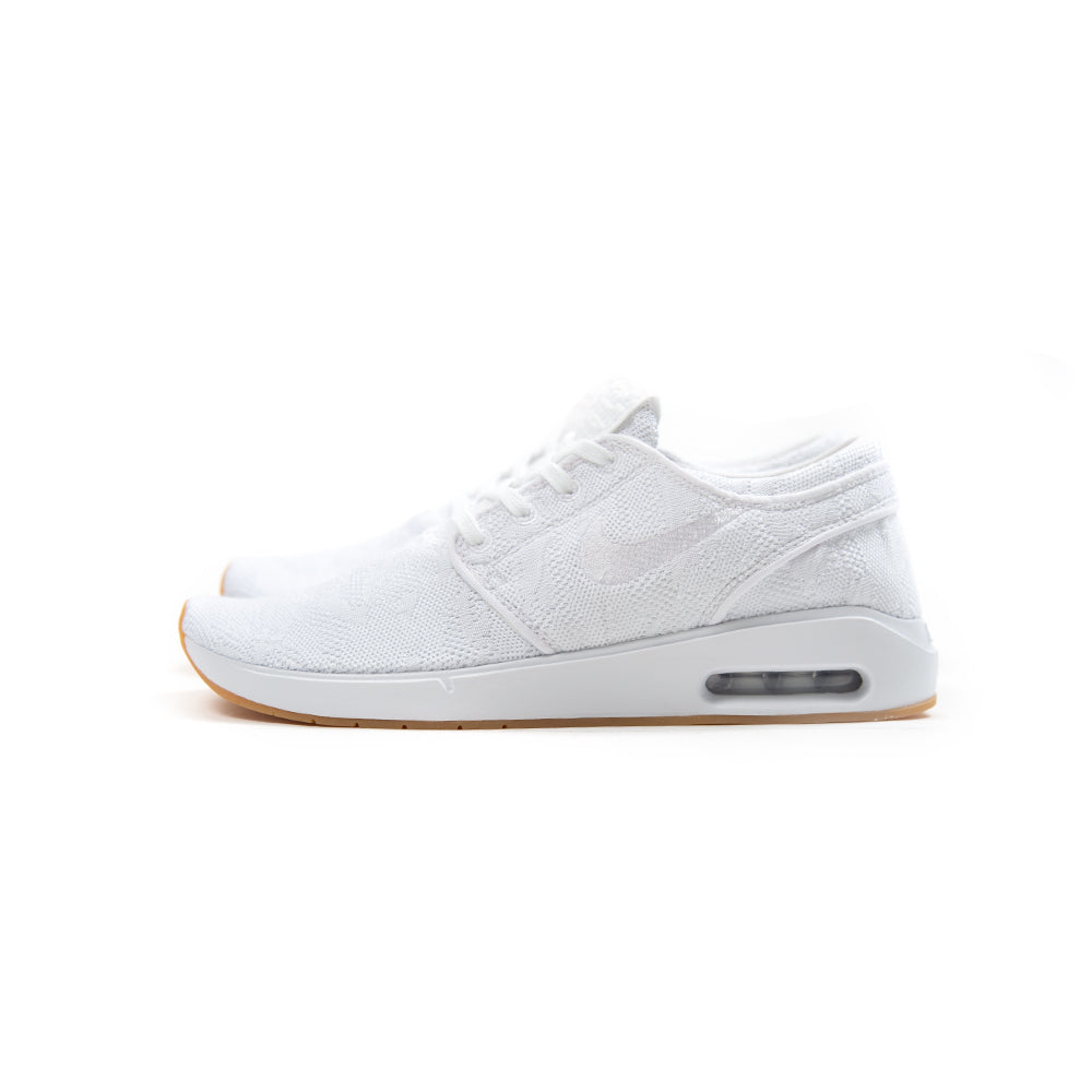 44a8be499870 Nike SB Air Max Janoski 2 (White White-Gum Yellow)