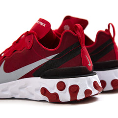 Nike React Element 55 (Gym Red/Wolf Grey-White-Black)