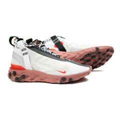 Nike React Mid WR ISPA (Summit White/Off White-LT Crimson) AT3143-100