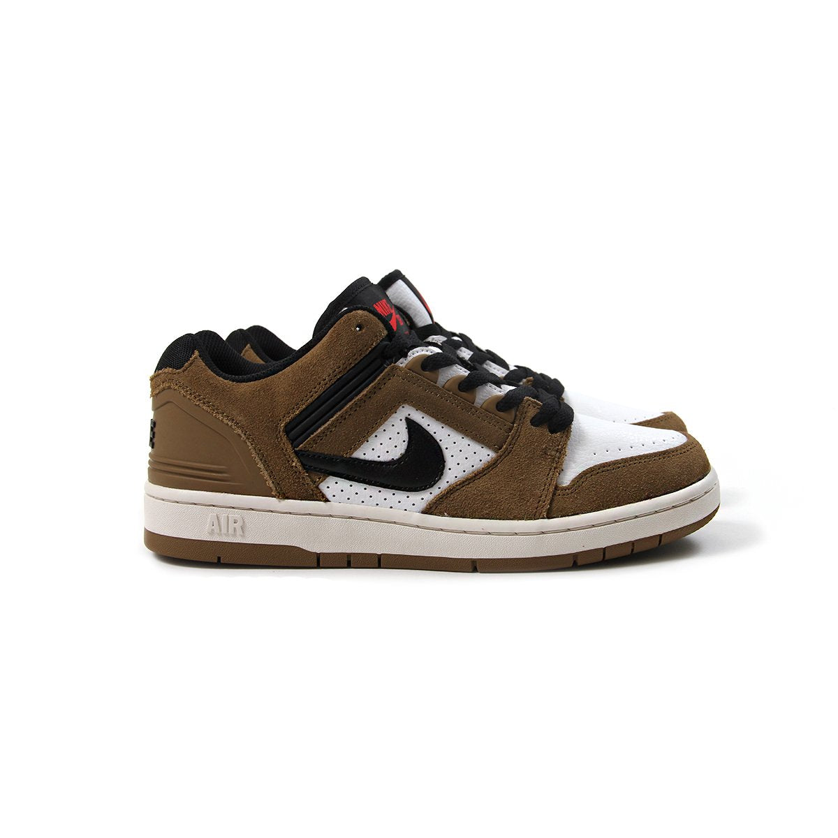 timeless design daa61 df6ac ConceptsIntl  Nike SB Air Force II Low (Lichen BrownBlack-White-Phantom)