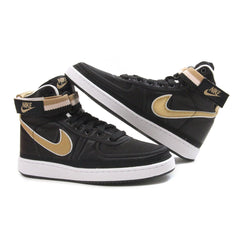 Nike Vandal High Supreme (Black/Metallic Gold-White)
