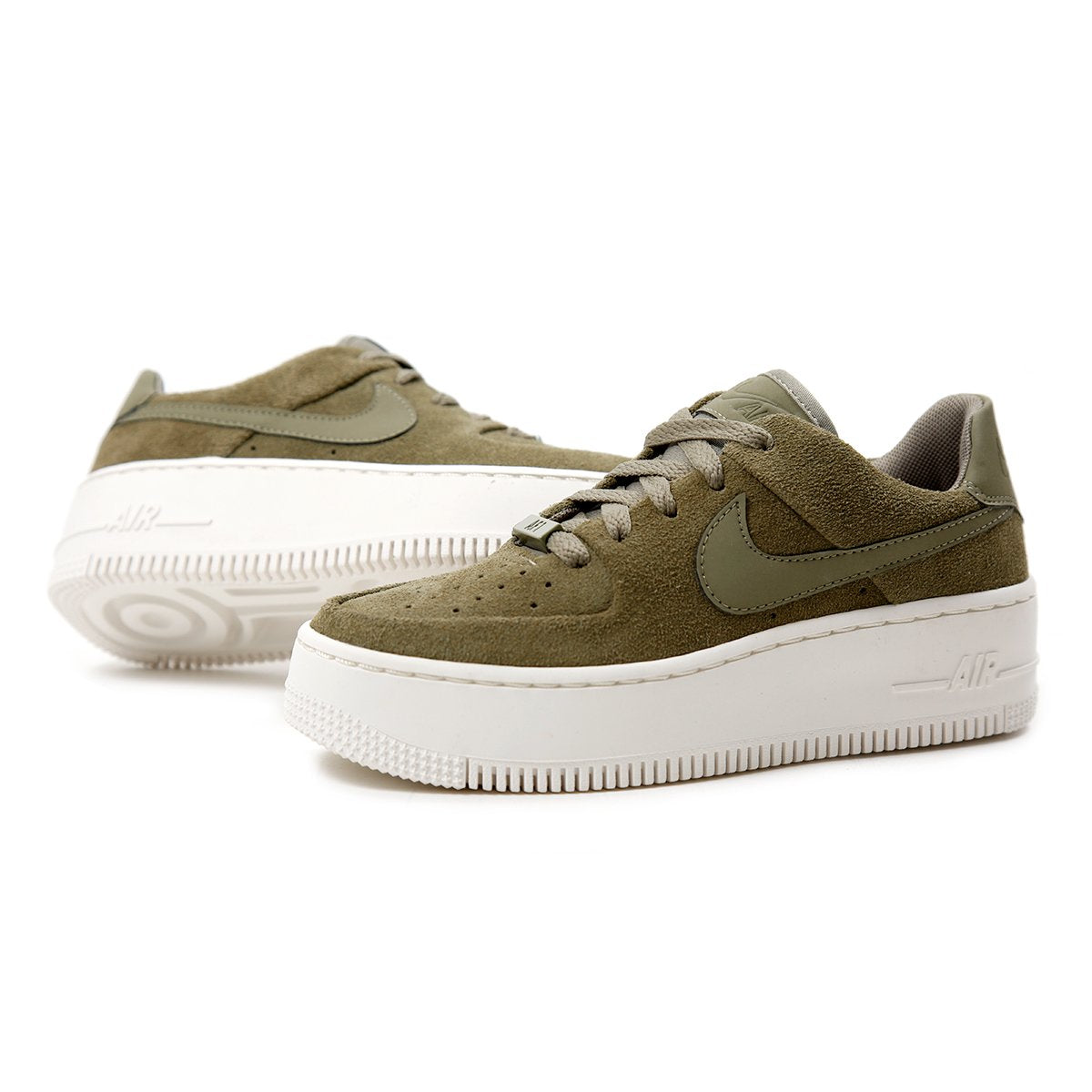 the best attitude f78d7 ebcc5 Nike Womens Air Force 1 Sage Low (Trooper Trooper Phantom)