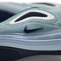 Nike Women's Air Max 720 (Metallic Silver/Midnight Navy)