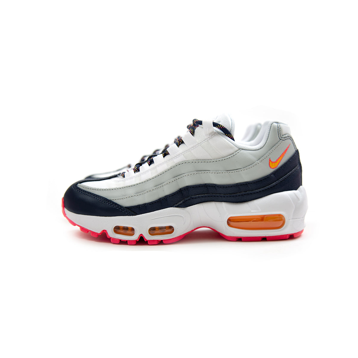 0b52b924e2 ConceptsIntl | Nike Women's Air Max 95 (Midnight Navy/Laser Orange-Pure  Platinum)