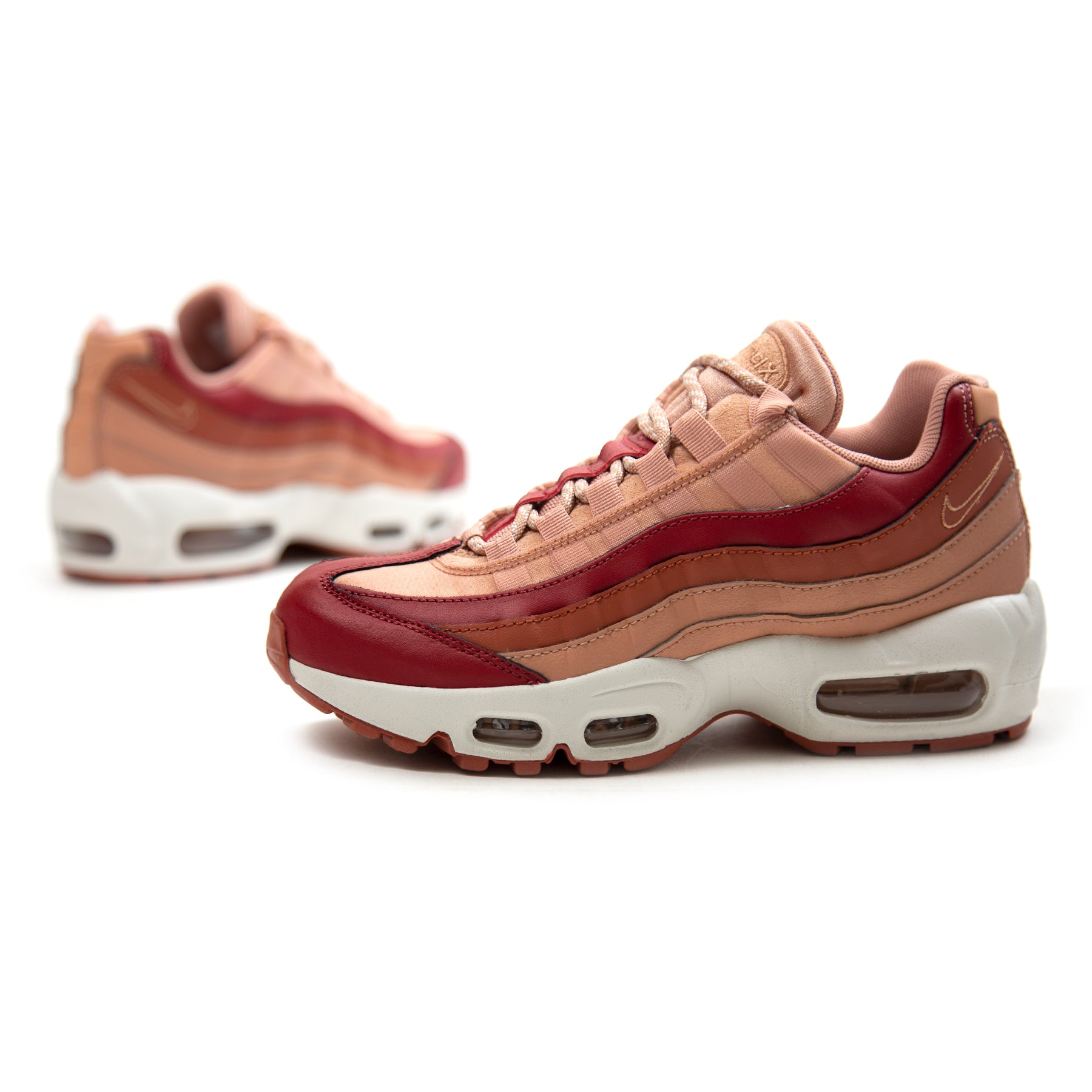 sports shoes f3e12 ad14b ConceptsIntl | Nike Women's Air Max 95 (Team Crimson/Dusty ...