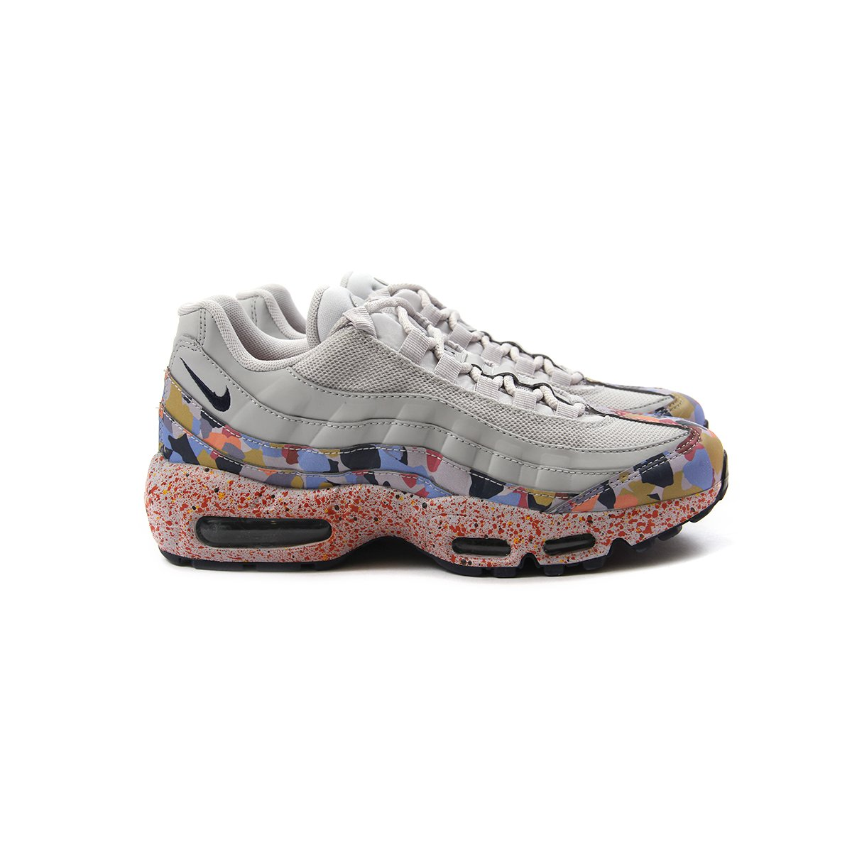 51bba61b77 ConceptsIntl | Nike Womens Air Max 95 SE (Vast Grey/Midnight Navy ...