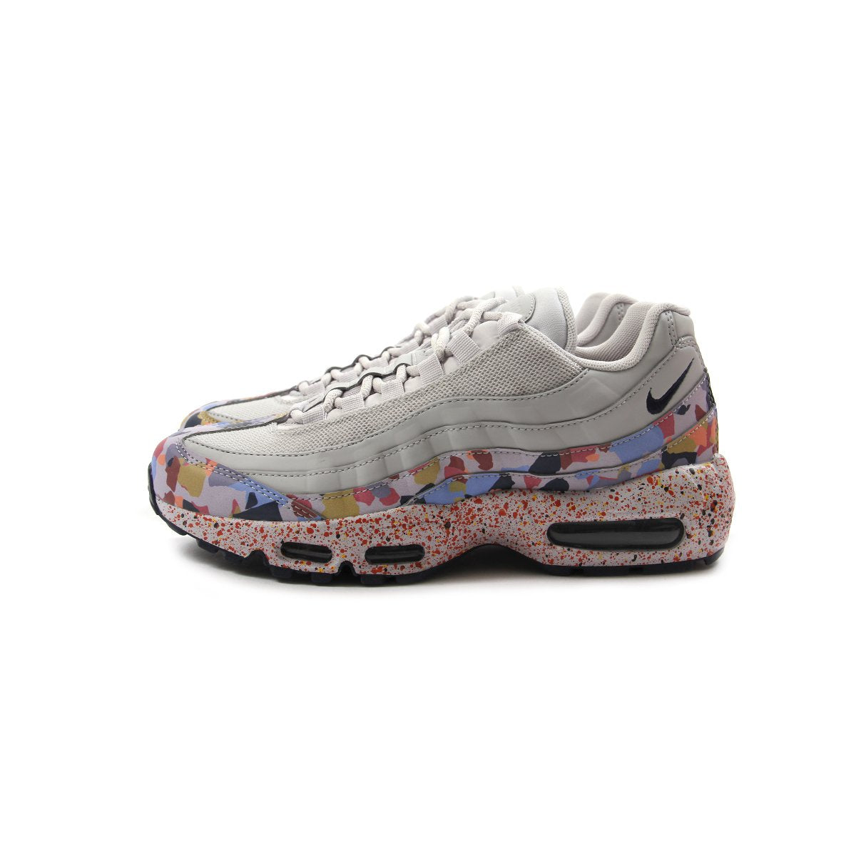 b20f9a4dba ConceptsIntl | Nike Womens Air Max 95 SE (Vast Grey/Midnight Navy-Habanero  Red)