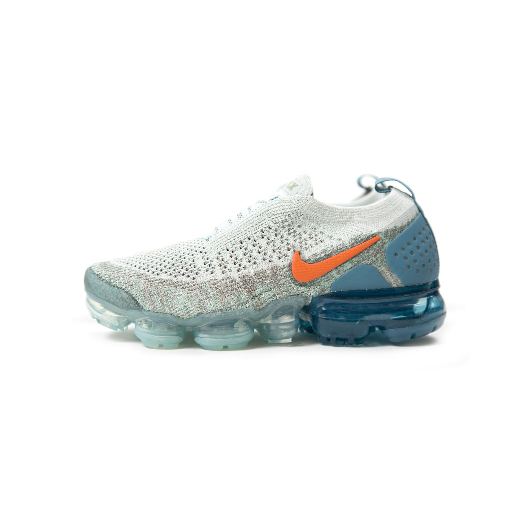 78066166263d ... switzerland conceptsintl nike womens air vapormax flyknit moc 2 light  silver campfire orange d b0449 4df26