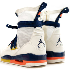 Nike Women's Air Jordan 3 RTR EXP Lite (Sail/Blue Void-Turf Orange-Bright Citron)