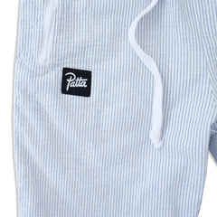 Patta Seersucker Joggers (Light Blue)