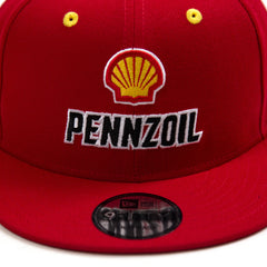 New Era Joey Logano Pennzoil Shell Snapback (Red)