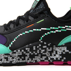 Puma RS-0 Game Error Jr (Puma Black/Green Gecko/Knockout Pink)