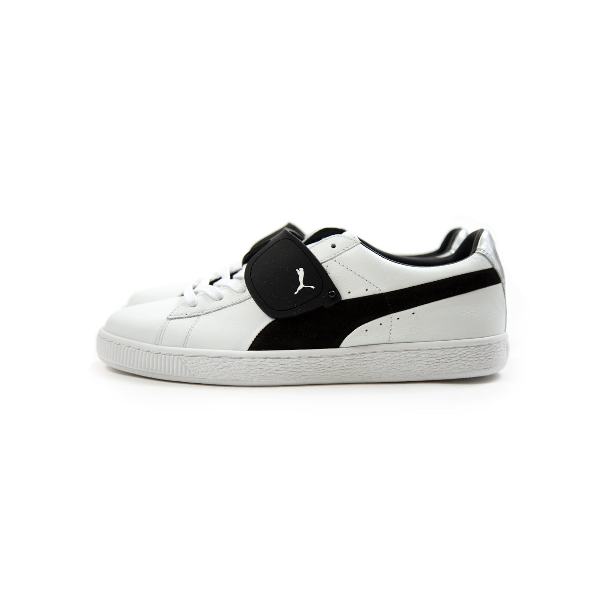 the latest 64670 6ac82 ConceptsIntl   Puma Suede Classic x Karl (Puma White-Puma Black)