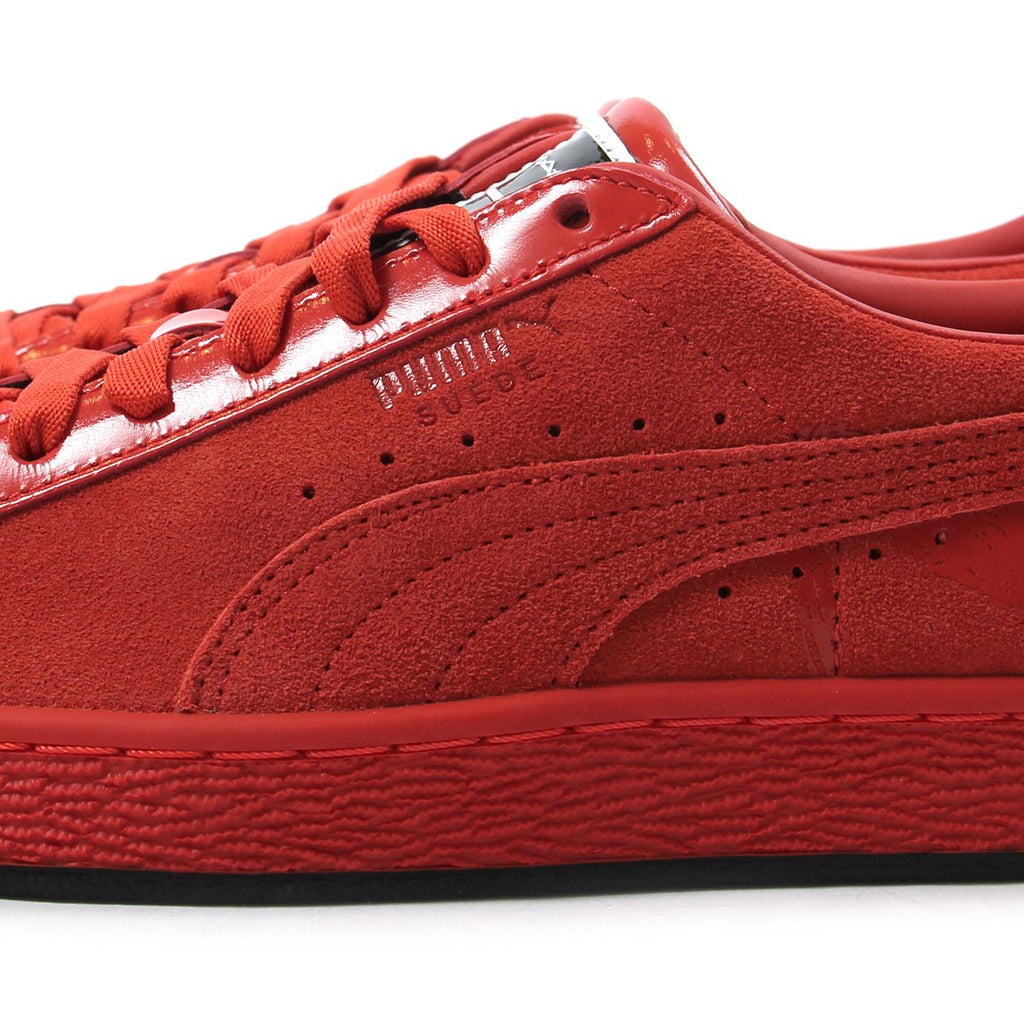 huge discount 70632 bbf30 ConceptsIntl | Puma Womens Suede Classic X Mac Two (Fiery Red)