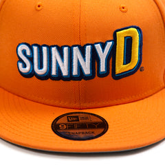 New Era Ricky Stenhouse Jr Sunny D Snapback (Orange)