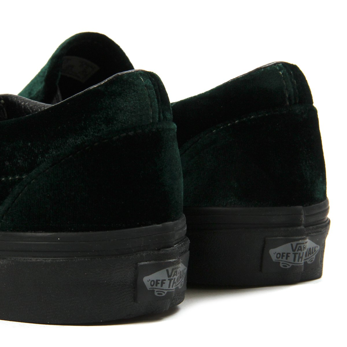 6802e6b533168c Vans Womens Classic Slip-On (Velvet Green)