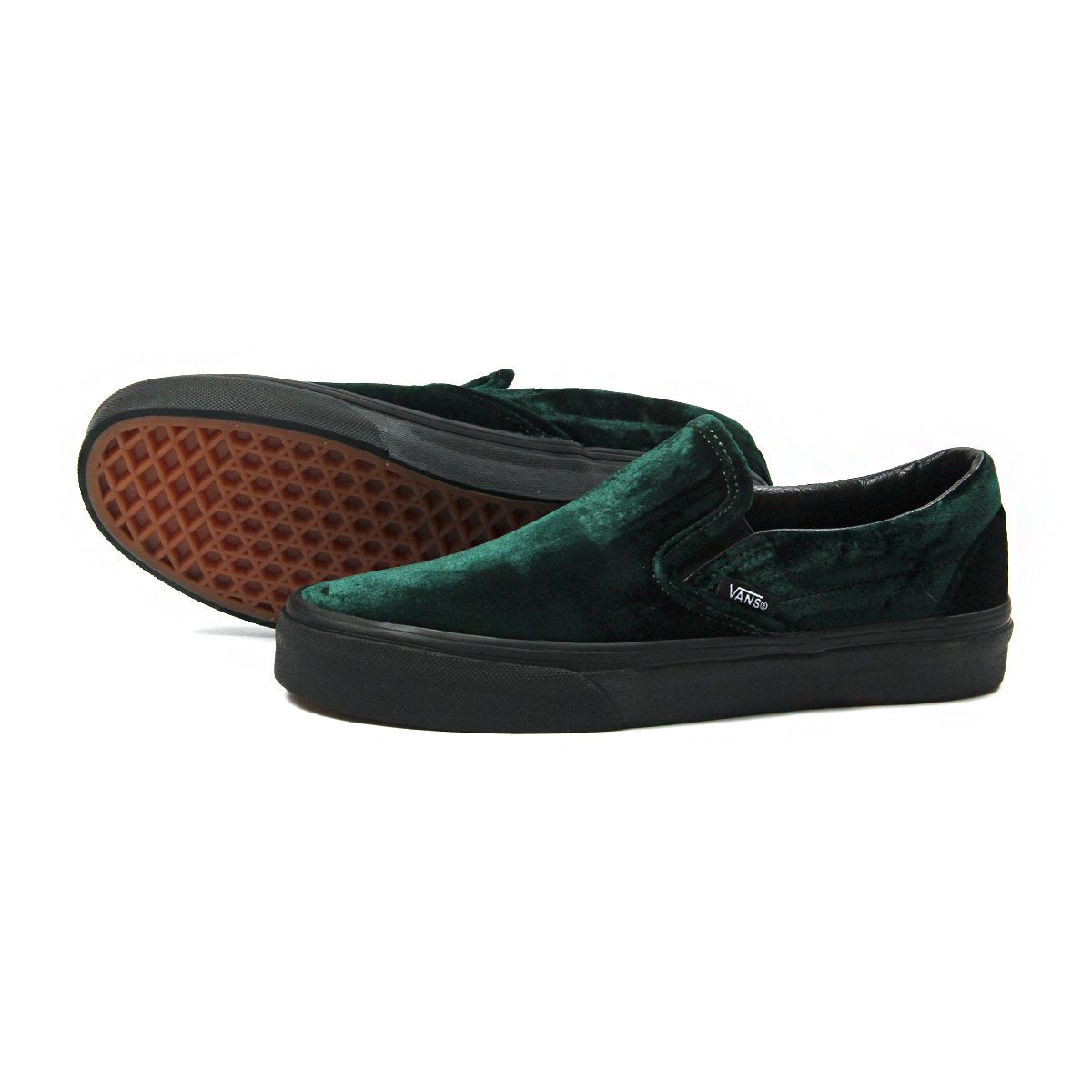 Vans Womens Classic Slip-On (Velvet Green) 5bb932f8a