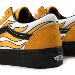 Vans Old Skool Flame (Banana/Black)