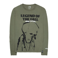 The Weeknd The Legend Of The Fall LS Tee (Olive)