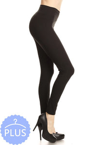 ULTIMATE Solid BLACK Leggings