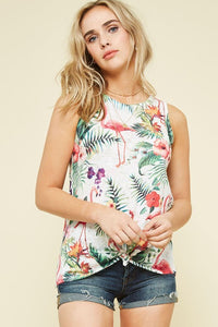 Tropical Knit Top (S-L)