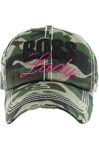 Boss Lady Cap one size