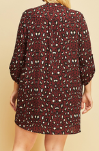 Load image into Gallery viewer, Leopard Dress/Tunic (XL-2XL)