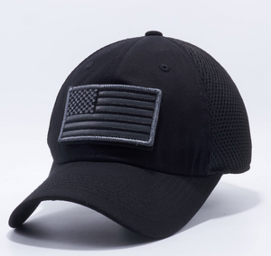 'Merica trucker hat - Black