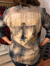 Load image into Gallery viewer, Distressed Flannel - Various Colors/Prints