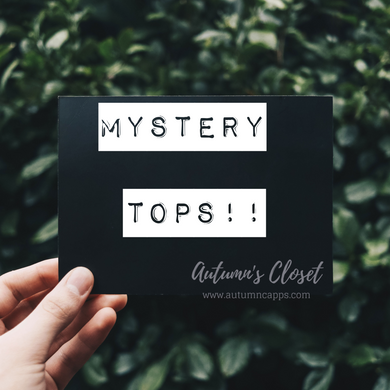 Mystery Packs!!! Tops Only!!