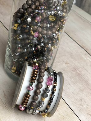Party 3-Bracelet Stack - Purple Hues