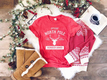 Load image into Gallery viewer, North Pole Short & Long Sleeve Tee