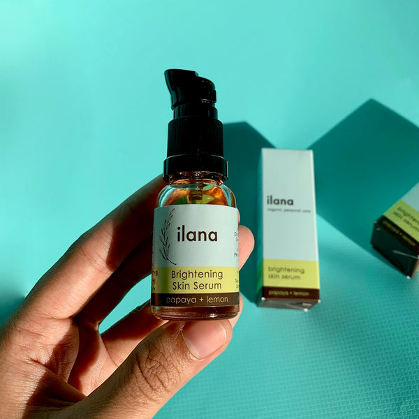 30 Days of Ilana Organics Brightening Skin Serum
