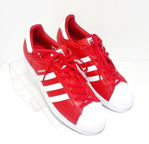 Adidas Superstar Foundation Red/White Shell Toe Men Athletic Sneakers Size 12