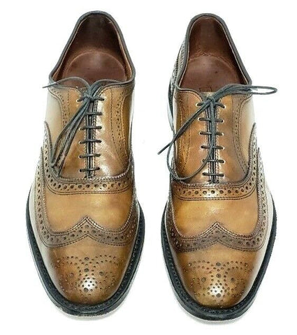 Allen Edmonds McAllister Wingtip Walnut Brown Men Oxfords Size 11.5B