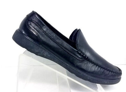 Cole Haan Sutton Venetian Black Leather Men Loafers Size 10.5M