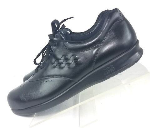 SAS Tripad Comfort FreeTime Black Leather Women Fashion Casual Shoes Size 10 N