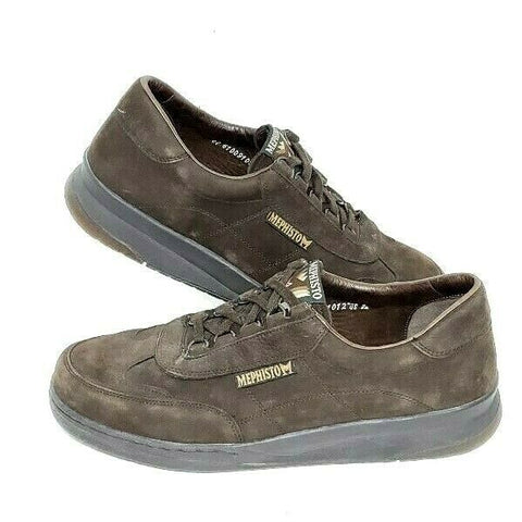MEPHISTO Runoff Oxfords Walking Brown Leather Shoes Sneakers Size 9