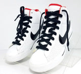 Nike Sweet Classic High Gs/Ps Kids Youth White/Black Red Children Athletic/Sneakers Size 4.5Y