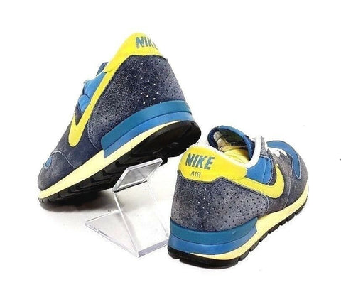 Nike Air Epic Vintage Blue/Yellow Men Athletic Sneakers Size 9