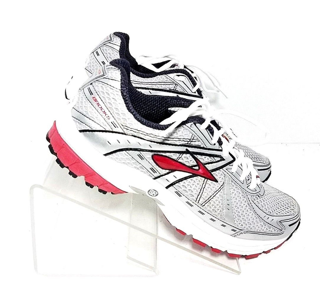 huge discount dd161 5ee81 Brooks Defyance 4 Gray/Red Men Athletic Sneakers Size 9.5 ...