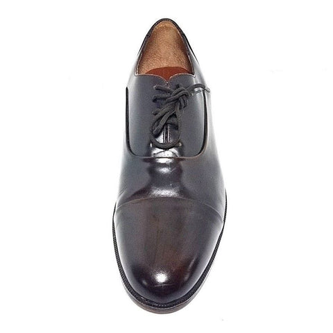 Giorgio Brutini Cap Toe Brown Leather Men Oxfords Size 11.5D