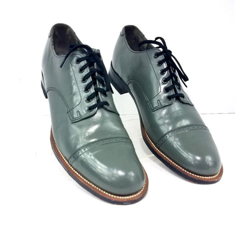 Stacy Adams Madison Cap Toe Derby Leather Men Oxfords Size 9