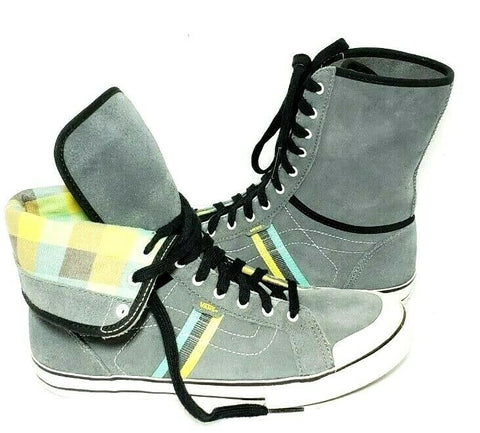 Vans Wellesley High Top Gray Women Sneakers Size 9