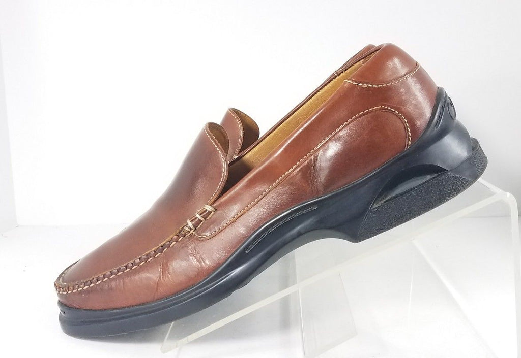 4c54e5378e Cole Haan Nike Air Tan Leather Slip-On Men Loafers Size 11 M – Sho£Pound